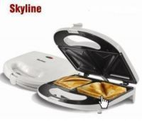 Skyline 4 Slice Sandwich Toaster Maker Non Stick 750 Watt
