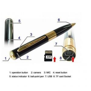 USB Spy Pen Camera - Expandable Upto 16GB