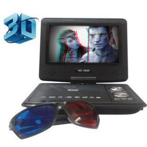7.8inch TFT Portable DVD Player With TV Tuner & 3d Glass