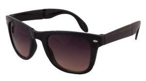Sushito 3 Fold Black Sunglass For Women