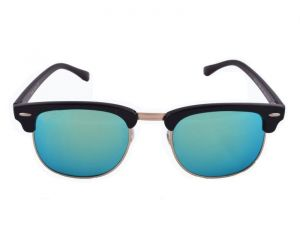 EDGE Plus Green Blue Mirror Sunglasses For Men