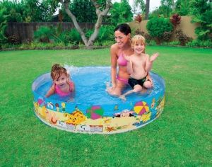 Intex 5 Feet Kids Pool ( No Air Required)