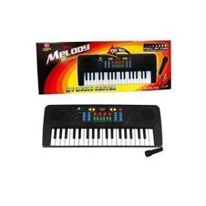 Melody 37 Keys Musical Electronic Piano Keyboard With Karaoke Mic For Kids