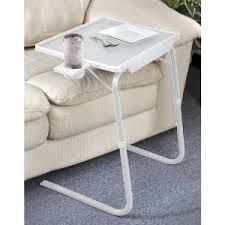 Table Folding Portable With Cup Holder For Dining