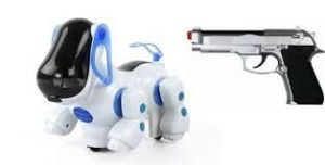 New Infrared Gun Remote Control Smart Dog