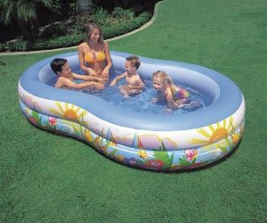 Intex Swim Center Paradise Family Pool Ntex 56490ep