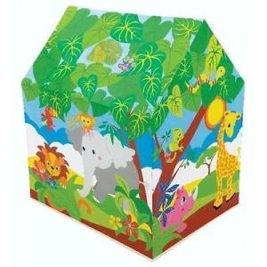 Original Intex Tent House Fun Cottage Play For Kids Gift Toy