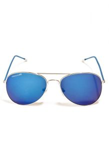 Danny Daze Smart Blue Mirror Lens Aviator Sunglasses For Men & Women