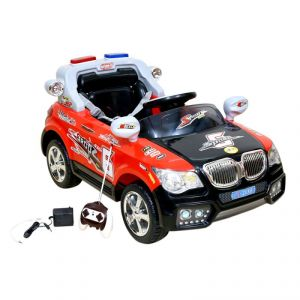 Wheel Power Battery Operated Ride On Car 20x8 Red-black