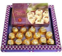 16 PCs Farrero Rocher And Soan Papdi
