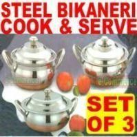 Stainless Steel Copper Base Casserole