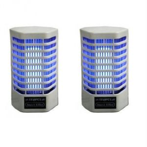 Set Of 2 Electronic Mosquito Killer Cum Night Lamp