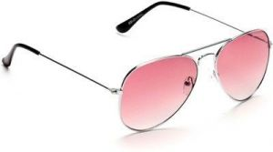 Imported Pink Stylish Aviator Sunglasses For Men & Women