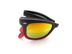 Folding Mirror Sunglasses-005