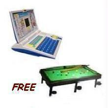 Childrens Learning Laptop With Free Snooker Pool