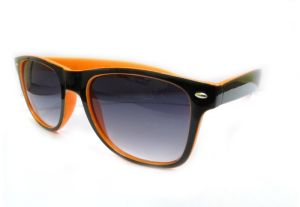 Sunglass Wayfarer Black-orange