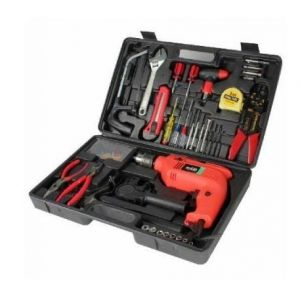Toolkit 100 PCs With 13mm Drill Machine Set