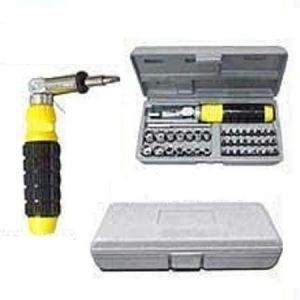 Tool Sets - 41 PCs Tool Kit Multipurpose Screw Driver Set