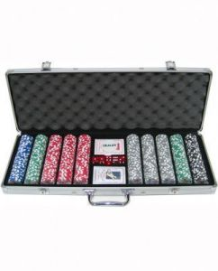 500 PCs Poker Set Casino Chips