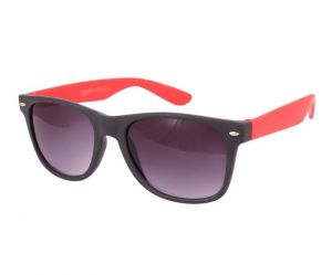 Sushito Youth Fashion Black Red Sunglass For Men