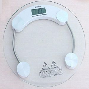LCD Glass Electronic Digital Personal Bathroom Health Body Weight Weighing Scale