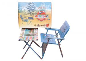 Metroa-1 Kids Table Chair Blue