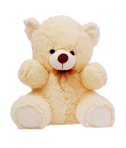 Grj India 48 Inches Teddy Bear - Cream