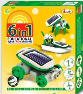 Annie 6 In 1 Educational Hybrid Solar Educationa Energy Kit