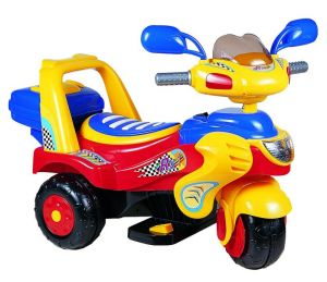 Power Wheel Yellow Red Blue Baby Bike 238