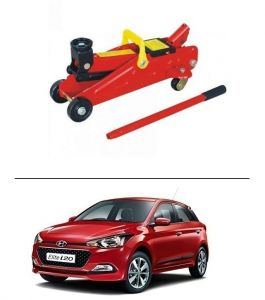 Car jacks - Autostark 2 Ton Professional Trolley Hydraulic Jack (red) For Hyundai I-20 Elite