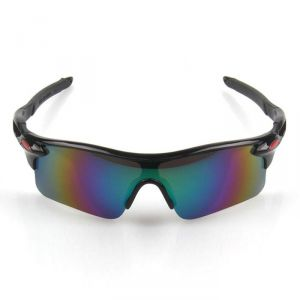 Mirror Lens Sport Sunglasses-009909