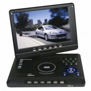 9.8 Inch 3d TFT Portable DVD Player With TV Tuner USB SD Card Slot