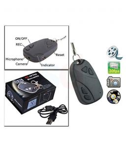 Rissachi Rs808 Key Chain Button Spy Camera