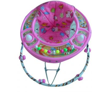 Toysezone Pink Baby Walker For Girls