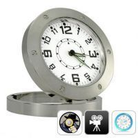 Spy Table Clock Dvr Hidden Camera Video Recorder Webcam Camcorder