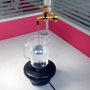 Magic Faucet Water Fountain With Night Light