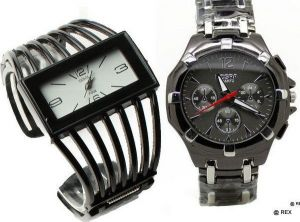 Stylish Combo - Mens Watch And Womens Watch -069