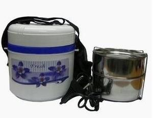 Electric Hot Case Tiffin Lunch Box 2 Compartments