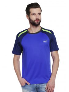 Fitz T Shirts (Men's) - Fitz Mens Polyester T-Shirt (Product code - A16TS7020EROYAL)