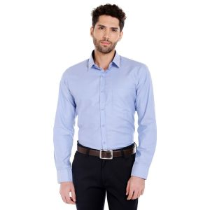 Solemio Cotton Shirt For Mens(code - A17sh1015ebu)
