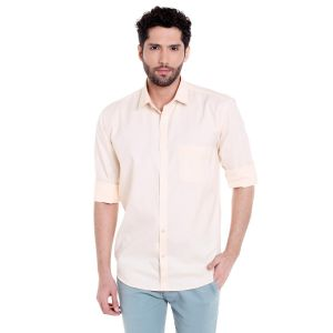 Solemio Poly Cotton Shirt For Mens(code - A17sh1020eyw)