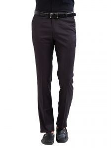 Solemio Polyester Viscose Trouser For Mens (code - A17tr1018ebl)