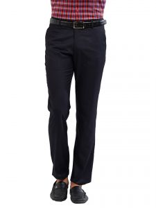 Solemio Polyester Viscose Trouser For Mens (code - A17tr1018env)
