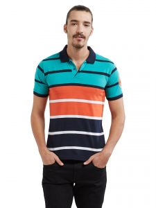 Fitz Polyester Cotton T-shirt For Mens (code - A17ts7028esgn)