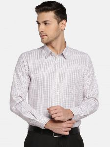 Solemio Men's Wear - Solemio Men Multi Checked Formal Shirt  (Code - A18SH1015ERD)