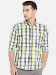 triveni,my pac,Solemio,Bagforever,Shonaya Apparels & Accessories - Solemio Men Multi Checked Casual Shirt  (Code - A18SH1016ELGN)