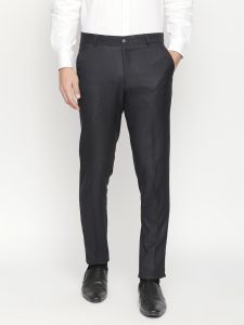 Solemio Grey Formal Trouser For Mens (code - A18tr3004env)