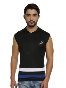 Fitz T Shirts (Men's) - Fitz Mens Micro Polyester T-Shirt (Product code - S16TS7038EBL)