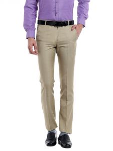 Solemio Mens Polyester Trousers(code - S17tr3017ecr)