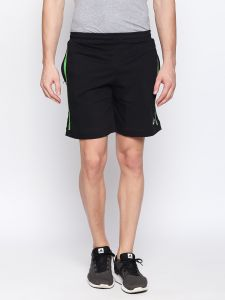 Fitz Black Shorts For Mens (code - S18so4005ebl)
